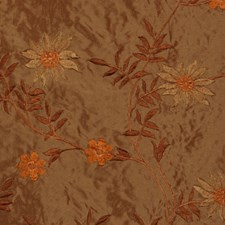 Ochre Drapery and Upholstery Fabric by RM Coco