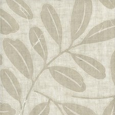 Natural Botanical Drapery and Upholstery Fabric by Andrew Martin