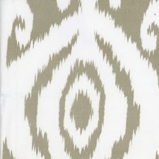 Taupe Ikat Drapery and Upholstery Fabric by Andrew Martin