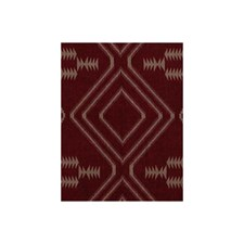 Red Ethnic Drapery and Upholstery Fabric by Andrew Martin