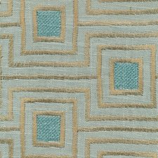 Misty Blue Drapery and Upholstery Fabric by Kasmir