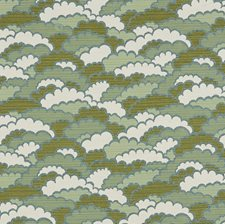 Blue/Green Transitional Drapery and Upholstery Fabric by JF