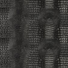 Black Animal Skins Drapery and Upholstery Fabric by Kravet