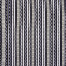 Onyx Stripe Drapery and Upholstery Fabric by Greenhouse