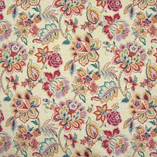 Masala Floral Drapery and Upholstery Fabric by Greenhouse
