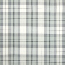 Silver Plaid Check Drapery and Upholstery Fabric by Greenhouse