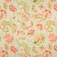 Citrus Floral Drapery and Upholstery Fabric by Greenhouse