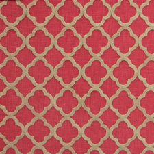 Ruby Lattice Drapery and Upholstery Fabric by Greenhouse