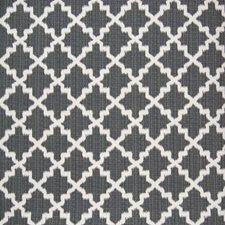 Charcoal Lattice Drapery and Upholstery Fabric by Greenhouse