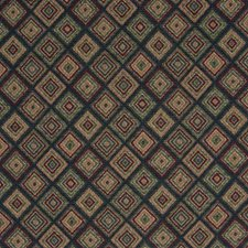 Royal Geometric Drapery and Upholstery Fabric by Greenhouse