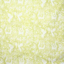 Chartreuse Ethnic Drapery and Upholstery Fabric by Pindler