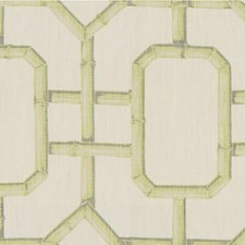 Celery Asian Drapery and Upholstery Fabric by Kravet