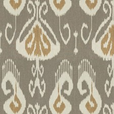 Slate Ikat Drapery and Upholstery Fabric by Kravet