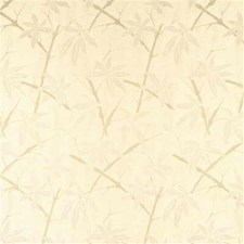 Ivory Botanical Drapery and Upholstery Fabric by G P & J Baker
