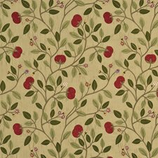 Red/Gold Embroidery Drapery and Upholstery Fabric by G P & J Baker