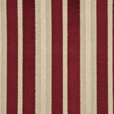 Cranberry Stripes Drapery and Upholstery Fabric by G P & J Baker