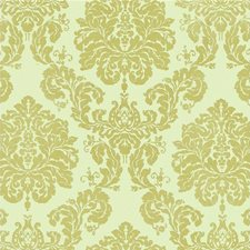 Bronze Damask Drapery and Upholstery Fabric by G P & J Baker