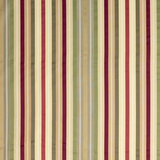 Claret/Pewter/Green Stripes Drapery and Upholstery Fabric by G P & J Baker
