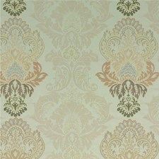 Pewter/Linen Embroidery Drapery and Upholstery Fabric by G P & J Baker