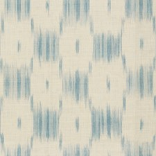 Dusty Blue Ikat Drapery and Upholstery Fabric by Lee Jofa