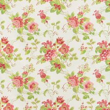 Pink/Lime Print Drapery and Upholstery Fabric by Lee Jofa