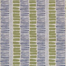 Lime/Indigo/Blue Contemporary Drapery and Upholstery Fabric by Lee Jofa