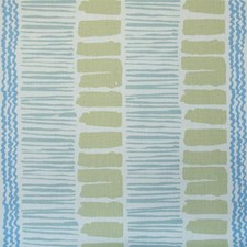 Light Green/Aqua/Cornflower Modern Drapery and Upholstery Fabric by Lee Jofa