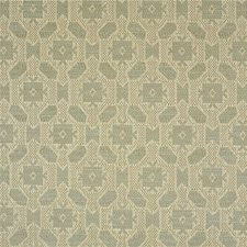 Silver Geometric Drapery and Upholstery Fabric by Lee Jofa