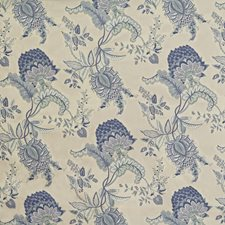 Blue Drapery and Upholstery Fabric by Lee Jofa