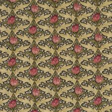 Rose/Olive Print Drapery and Upholstery Fabric by G P & J Baker