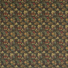 Cinder/Multi Print Drapery and Upholstery Fabric by G P & J Baker