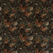 Amber/Jade Print Drapery and Upholstery Fabric by G P & J Baker