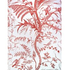 Red Toile Drapery and Upholstery Fabric by Brunschwig & Fils