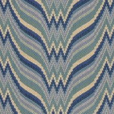 Canton Blue/Aqua Texture Drapery and Upholstery Fabric by Brunschwig & Fils