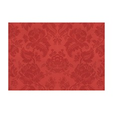 Vieux Rouge Damask Drapery and Upholstery Fabric by Brunschwig & Fils