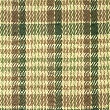 Forest/Bark Plaid Drapery and Upholstery Fabric by Brunschwig & Fils