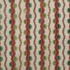 Raspberry Leaf Drapery and Upholstery Fabric by Scalamandre
