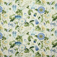 Bluegreen Traditional Drapery and Upholstery Fabric by Pindler