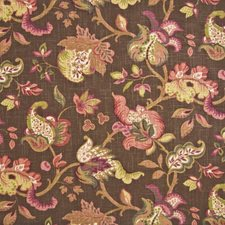 Chocolate Drapery and Upholstery Fabric by Kasmir