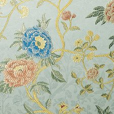 Turchese Drapery and Upholstery Fabric by Scalamandre
