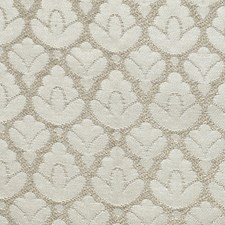 Ivory/Silver Drapery and Upholstery Fabric by Scalamandre
