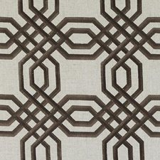 Natural/brown Drapery and Upholstery Fabric by Duralee