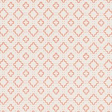 Coral Diamond Drapery and Upholstery Fabric by Duralee