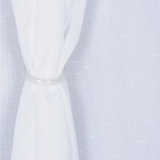 White Drapery and Upholstery Fabric by RM Coco
