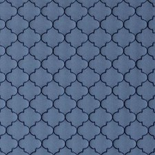 Sapphire Medallion Drapery and Upholstery Fabric by Duralee