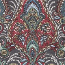 Multi Paisley Drapery and Upholstery Fabric by Duralee