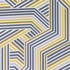 Gold Abstract Drapery and Upholstery Fabric by Duralee