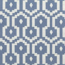 Blue/white Drapery and Upholstery Fabric by Stout