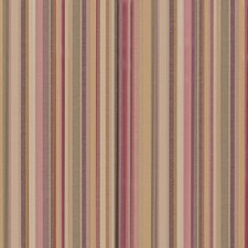 Geranium Stripe Drapery and Upholstery Fabric by Duralee