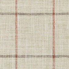 Natural/Pink Plaid Drapery and Upholstery Fabric by Duralee